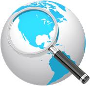 Location Conesys USA globe find